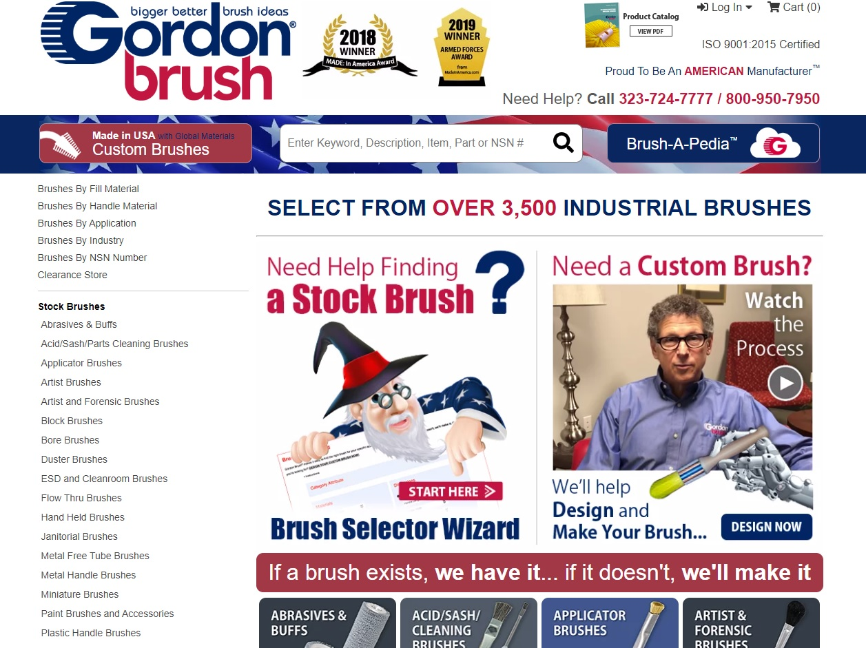 Gordon Brush Mfg. Co., Inc.